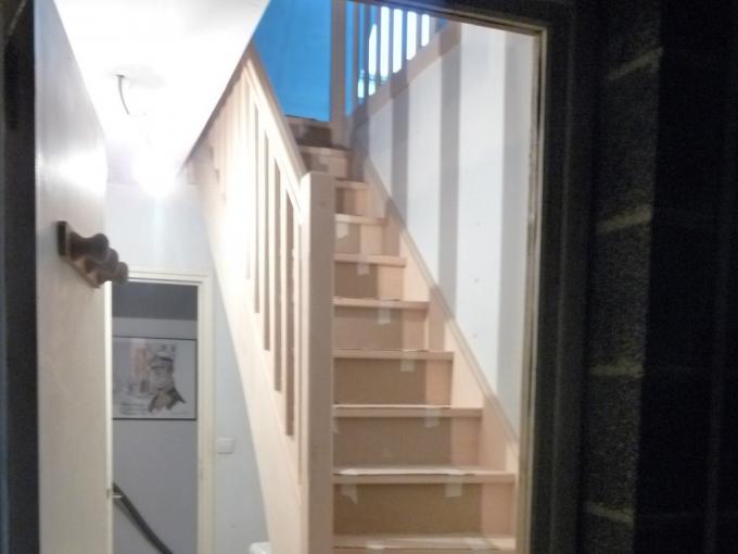 Mise en place de l'escalier