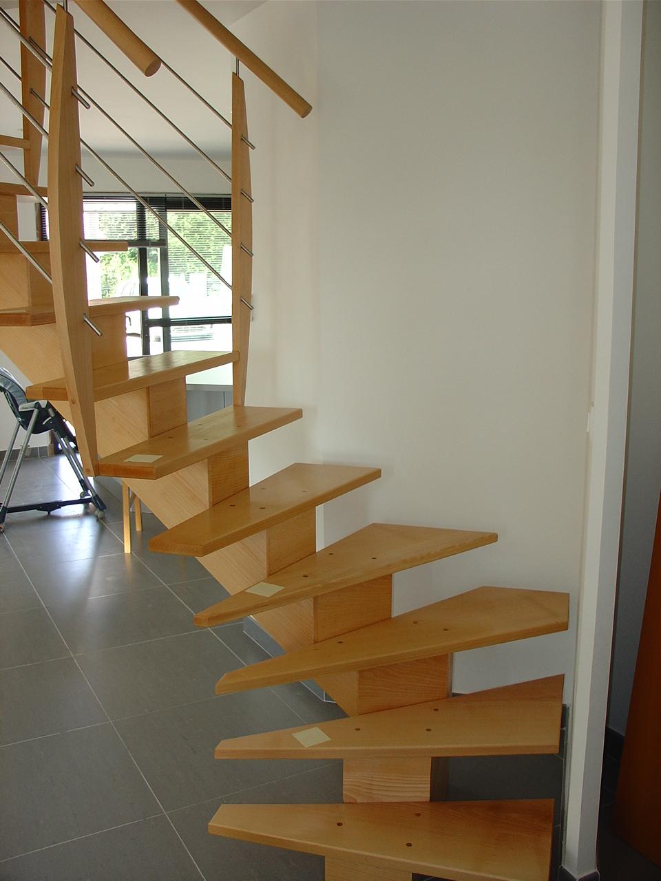 Escaliers combles du nord gary - Escalier limon central prix ...